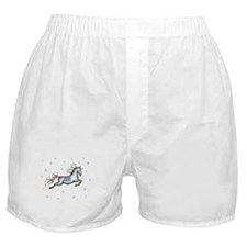 Starry Sky Horse Boxer Shorts