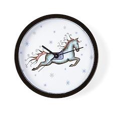 Starry Sky Horse Wall Clock