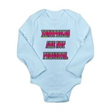 XENOPHILES ARE NOT PERVERTS. Long Sleeve Infant Bo