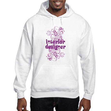 Interior Designer Hooded Sweatshirt