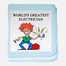 electrician gifts t-shirts Infant Blanket
