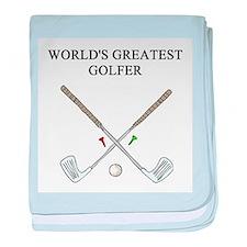 golf humor gifts t-shirts Infant Blanket