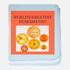 numismatist gifts t-shirts Infant Blanket
