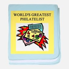 philatelist gifts t-shirts Infant Blanket