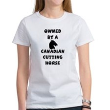 Canadian Cutting Horse Tee