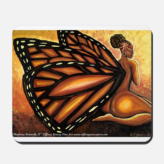 Madame Butterfly II Mousepad