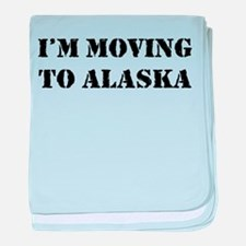 Moving to Alaska Infant Blanket