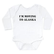 Moving to Alaska Long Sleeve Infant Bodysuit