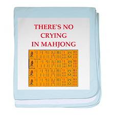 i love mahjong Infant Blanket
