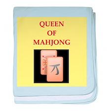 mahjong players Infant Blanket