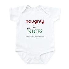 Naughty or Nice Onesie