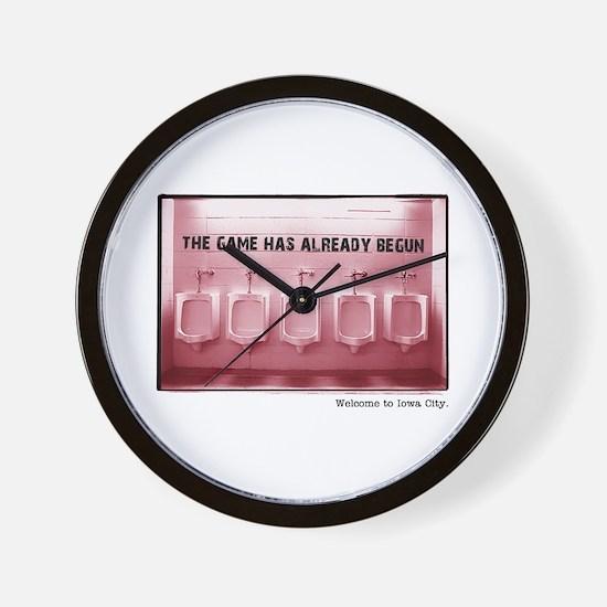 Kinnick Pink Wall Clock