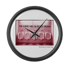 Kinnick Pink Large Wall Clock