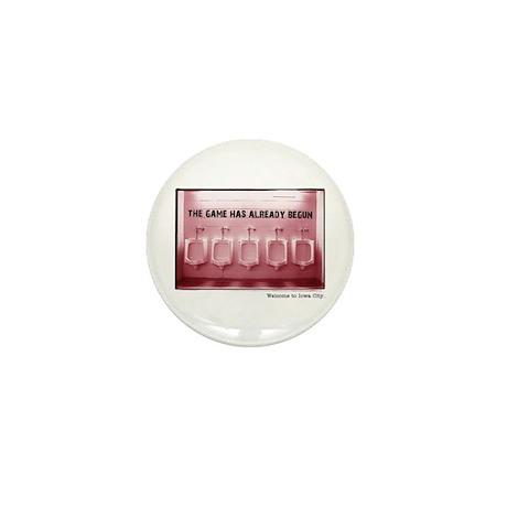Kinnick Pink Mini Button (100 pack)