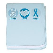 Peace LtBl Hope Infant Blanket
