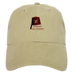 Shriners Support our Troops Baseball Cap