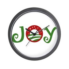 Joy Obama Wall Clock
