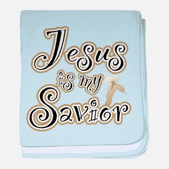 Jesus is my Savior Infant Blanket