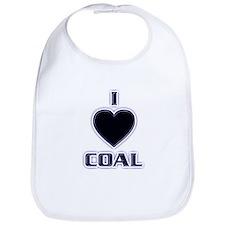 I Love Coal Bib