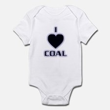 I Love Coal Infant Bodysuit