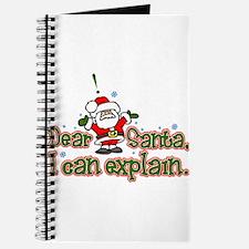 Dear Santa, I can Explain Journal