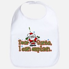 Dear Santa, I can Explain Bib
