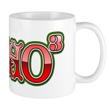 Ho to the third power Mug