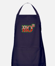 Ho to the third power Apron (dark)