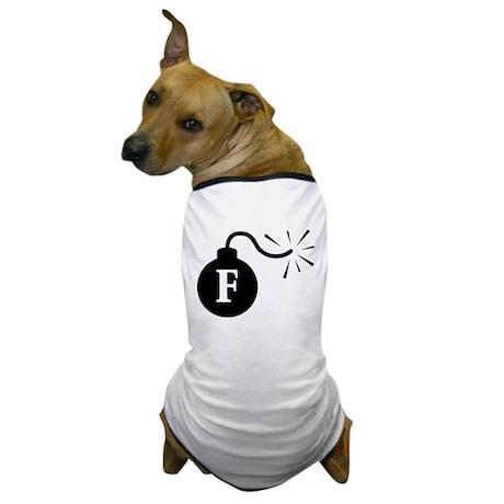 FBomb Dog T-Shirt