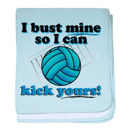 Bust Mine Vball Infant Blanket