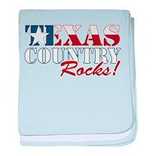 Texas Country Rocks Infant Blanket