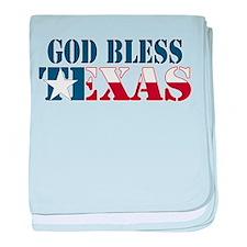 God Bless Texas Infant Blanket