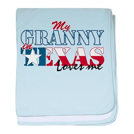 My Granny in TX Infant Blanket