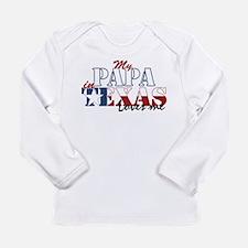 My Papa in TX Long Sleeve Infant T-Shirt