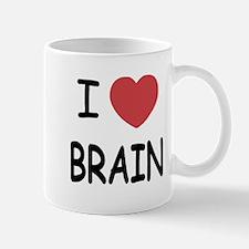 I heart brain Mug