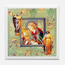 Hail Mary Tile Coaster