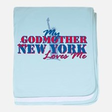 My Godmother in NY Infant Blanket