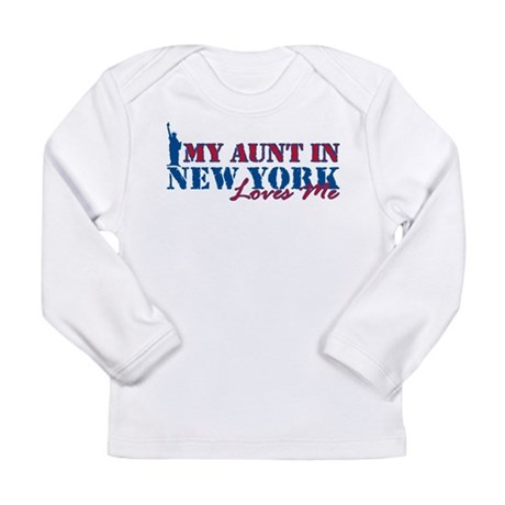 My Aunt in NY Long Sleeve Infant T-Shirt