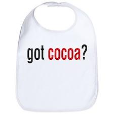got cocoa? Bib