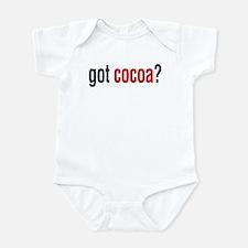 got cocoa? Infant Bodysuit