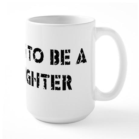 Fighter Large Mug