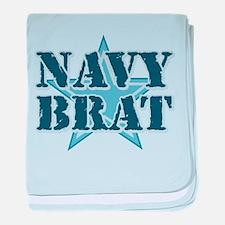 Navy Brat Infant Blanket