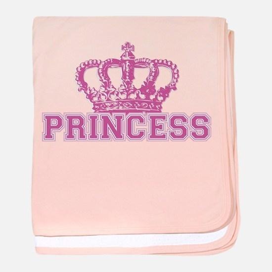 Crown Princess baby blanket
