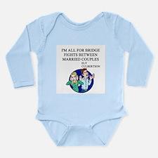 bridge game Long Sleeve Infant Bodysuit