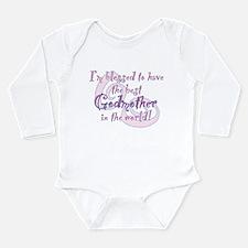 Blessed Godmother Pk Long Sleeve Infant Bodysuit