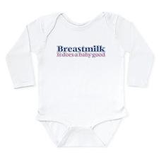 Breastmilk Long Sleeve Infant Bodysuit