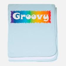 Groovy cl block Infant Blanket