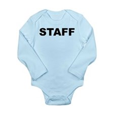 Staff Long Sleeve Infant Bodysuit