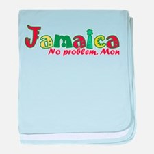 Jamaica No Problem baby blanket