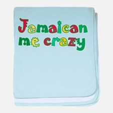 Jamaican me crazy Infant Blanket